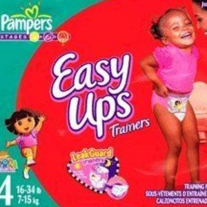 Pampers Easy Ups Training Diapers Size 4